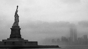 Statue of Liberty Monochrome wallpapers and stock photos