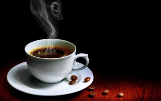 Hot Cup Of Coffee wallpapers and stock photos
