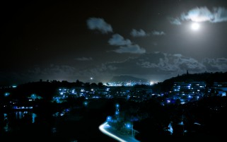Random: Poha Kea At Night