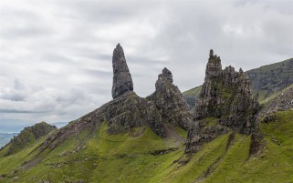 Trotternish Isle Of Skye wallpapers and stock photos