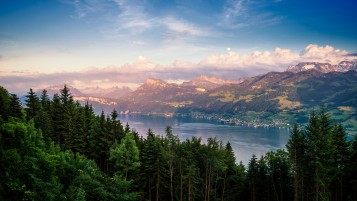 Lake Zurich Landscape wallpapers and stock photos