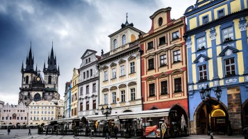 Old Town Square in Prague wallpapers and stock photos