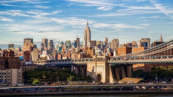 Brooklyn Bridge Manhattan wallpapers and stock photos