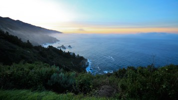 Big Sur Sunrise wallpapers and stock photos