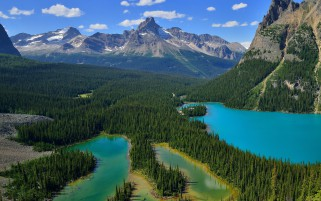 Yoho National Park Canada Lake wallpapers and stock photos