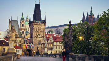 Charles Bridge Prague wallpapers and stock photos