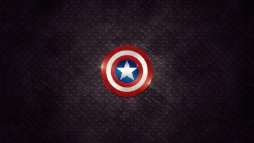 Captain America Logo wallpapers and stock photos