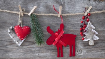 Handmade Ornaments for Christmas wallpapers and stock photos