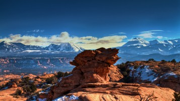 Moab Utah Mountains wallpapers and stock photos