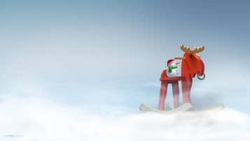 Wood Reindeer Children's Toy wallpapers and stock photos