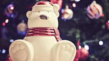 Christmas Bear wallpapers and stock photos