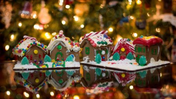 Gingerbread Christmas Ornaments wallpapers and stock photos