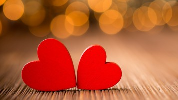 Red Hearts wallpapers and stock photos