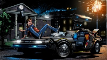 Back to the Future 4 Art wallpapers and stock photos