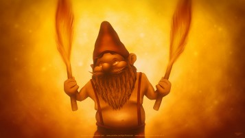 Fire Gnome wallpapers and stock photos