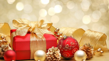 Christmas Gift Box Decor wallpapers and stock photos