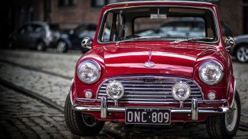 Antiguo Mini Cooper S wallpapers and stock photos