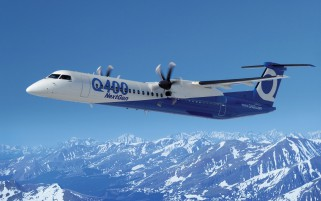 Q400 Aircraft wallpapers and stock photos