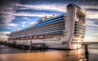 Caribbean Princess Liner wallpapers and stock photos