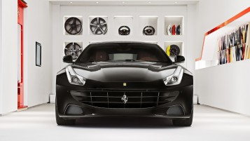 Black Ferrari FF wallpapers and stock photos