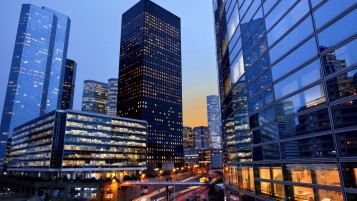 La Defense Paris wallpapers and stock photos