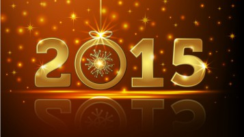 2015 New Year wallpapers and stock photos
