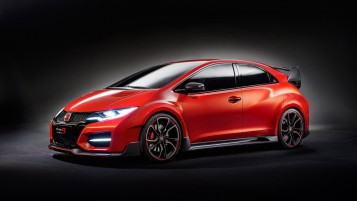 Honda Civic Type R Concept wallpapers and stock photos