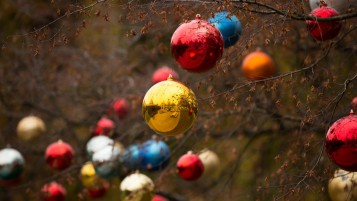 Colorful Christmas Ornaments wallpapers and stock photos