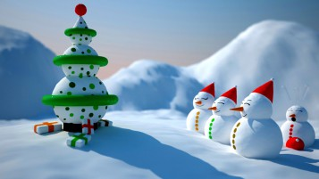 Schneemann-Weihnachts wallpapers and stock photos