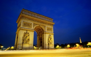 Arc Triumphe Paris wallpapers and stock photos
