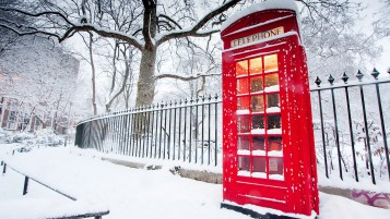 English Phone Booth wallpapers and stock photos