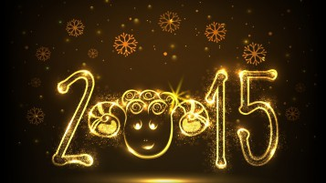 New Year Funny Face wallpapers and stock photos