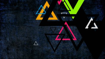 Colorful Triangles wallpapers and stock photos