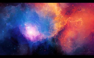 Glowing Space Nebula Star wallpapers and stock photos