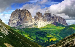 Mighty Dolomites Europe Italy wallpapers and stock photos