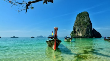 Railay Beach Thailand wallpapers and stock photos