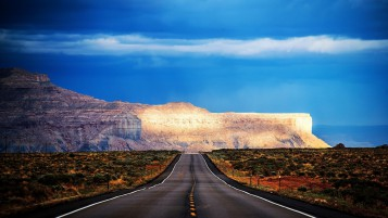 Arizona Road HDR wallpapers and stock photos