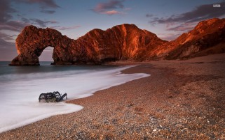 Durdle Door Coast Six wallpapers and stock photos