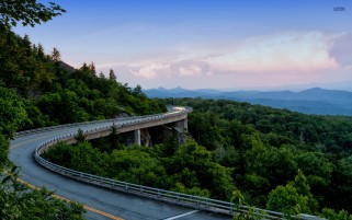Highway Sky Mountains Scenery wallpapers and stock photos