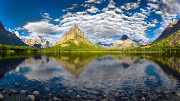 Beautiful Glacier National Park wallpapers and stock photos