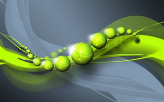 Spheres Circles Shapes Green wallpapers and stock photos