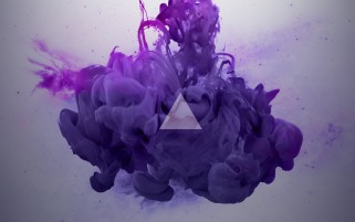 Random: Purple Smoke Abstract
