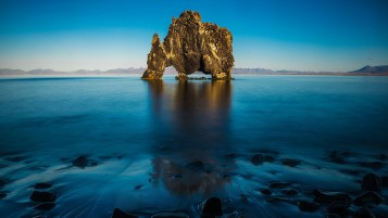 Hvitserkur North Iceland wallpapers and stock photos