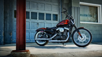 Harley Davidson Sporster XL 1200 wallpapers and stock photos