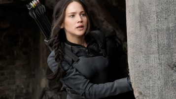 Jennifer Lawrence as Katniss Everdeen wallpapers and stock photos