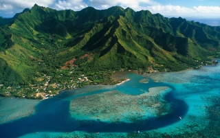 Moorea Island wallpapers and stock photos