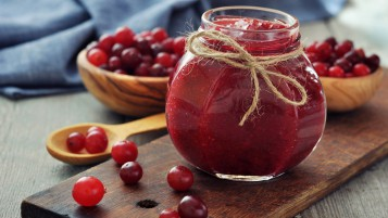 Random: Cranberries Jam Jar