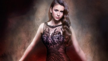 Intrigueging Nina Dobrev wallpapers and stock photos