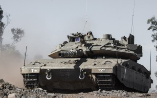 Merkava IV israelische Panzer wallpapers and stock photos