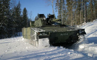 Swedish Battle Vehicle wallpapers and stock photos